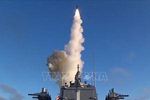 Nga lần đầu phóng tên lửa siêu thanh Tsirkon từ tàu chiến