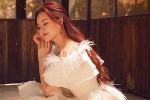 Vy Oanh nói về thông tin rút khỏi showbiz sau kết hôn