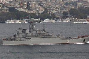 Thổ Nhĩ Kỳ lăm le đóng eo biển Bosphorus với tàu Nga