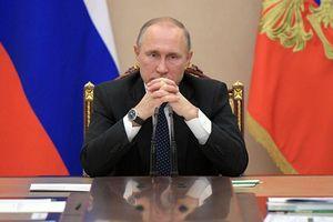 Tiết lộ về cuộc họp của Tổng thống Putin với các quan chức an ninh Nga