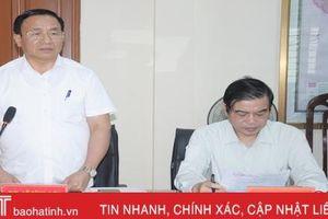 Báo cáo chính trị trình đại hội Đảng bộ Sở TN&MT Hà Tĩnh nên chọn 3 nội dung đột phá