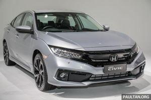 Honda Civic 2020 bản nâng cấp ra mắt 3 phiên bản mới