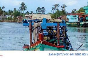 Phát hiện thi thể 3 thuyền viên trong hầm tàu bị chìm ở Cà Mau