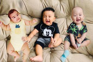 3 nhóc tỳ nhà sao Việt đốn tim mọi người với vẻ ngoài bụ bẫm núc ních nhìn là cưng xỉu