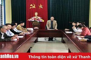 Đảng bộ huyện Nông Cống chuẩn bị các điều kiện tổ chức đại hội đảng các cấp