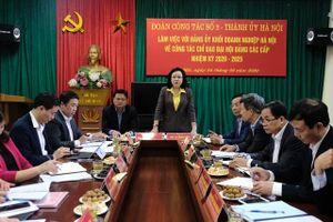 90 năm Đảng bộ TP Hà Nội: Không ngừng đổi mới tư duy và hành động