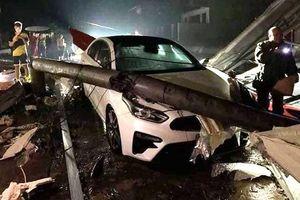 Mưa đá và dông lốc ở Yên Bái làm hư hỏng hơn 2.000 nhà dân, nhiều tuyến đường ngập úng cục bộ