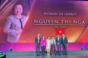 Chủ tịch BRG được vinh danh nữ doanh nhân có tầm ảnh hưởng lớn khu vực ASEAN