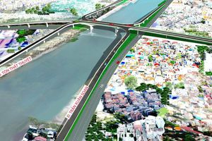 TPHCM: Lấy ý kiến về cầu đường vượt quận 4