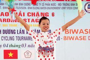 Đinh Thị Như Quỳnh (BIW) đoạt chiếc Áo chấm đỏ ''Nữ hoàng leo núi''
