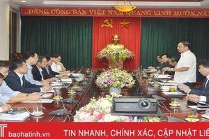 Bàn phương án tái cơ cấu các công ty cao su ở Hà Tĩnh