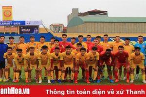 U19 Thanh Hóa tạm chiếm ngôi đầu bảng B vòng loại giải vô địch U19 quốc gia 2020