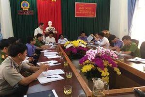 VKSND huyện Đắk R'lấp tổ chức công tác phối hợp liên ngành