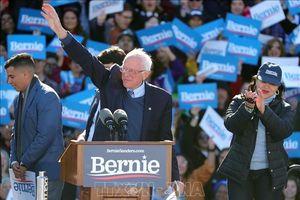 Bầu cử Mỹ 2020: Nhiều nhóm cử tri có quan điểm cấp tiến ủng hộ ông Bernie Sanders