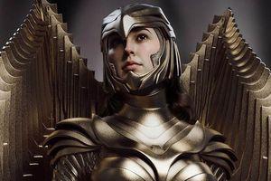 Wonder Woman 1984: Chiêm ngưỡng bộ giáp vàng tuyệt đẹp của Diana