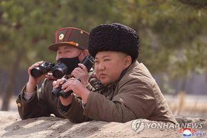 Ông Kim Jong-un tiếp tục giám sát tập trận bắn pháo tầm xa