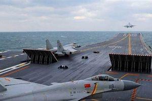 Cụm tàu sân bay Mỹ và Trung Quốc: Đánh bại đối phương?