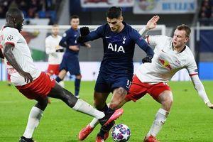 Thua tan tác ở Leipzig, Tottenham thành cựu á quân Champions League