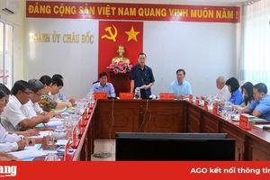 Châu Đốc chuẩn bị tốt công tác tổ chức Đại hội Đảng bộ các cấp