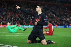 Thua ngược Atletico Madrid, ĐKVĐ Liverpool bị loại