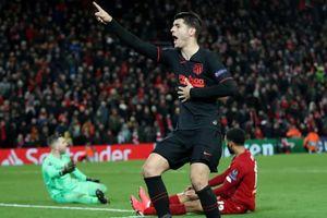 Atletico Madrid biến Liverpool thành cựu vương Champions League