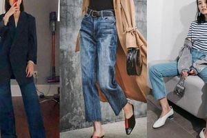 Mãi đến khi 30 tuổi, tôi mới biết đây là 4 dáng quần jeans mà người đùi to như tôi có thể mặc đẹp