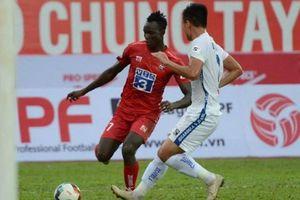 Kết quả V-League 2020: Bị phản lưới nhà, Hải Phòng hồi sinh ở phút 87