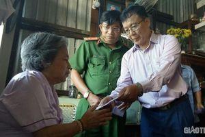 Hỗ trợ gia đình nạn nhân tử vong trong vụ tai nạn xe buýt ở Bạc Liêu