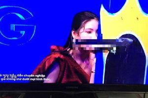 Gameshow để mẫu nữ cầm củ cải trắng gợi dục, ê-kíp sản xuất và VTV nói gì?