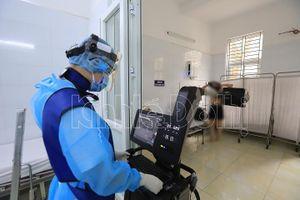 Cận cảnh bên trong khu cách ly, sẵn sàng điều trị bệnh nhân Covid-19