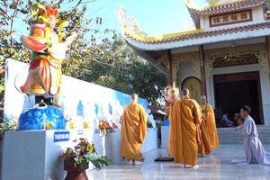 Đồng Tháp : An vị tượng thờ tại chùa Thanh Lương