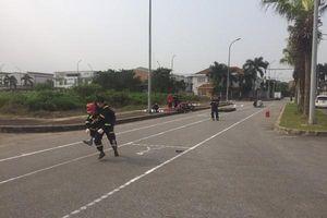 Cảnh sát phòng cháy, chữa cháy Công an quận Long Biên sẵn sàng cho Hội thao nghiệp vụ chữa cháy