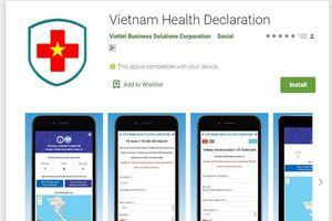 Ra mắt hệ thống khai báo sức khỏe du lịch