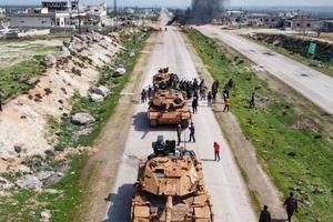 Nga-Thổ Nhĩ Kỳ cắt ngắn lộ trình tuần tra đầu tiên ở Idlib
