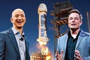 Kế hoạch vũ trụ của Jeff Bezos và Elon Musk khác nhau ra sao?