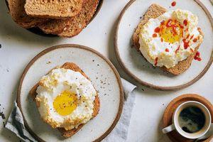 Biến tấu món ăn hấp dẫn từ trứng
