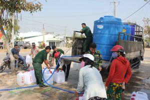 Cấp nước ngọt cho người dân biên giới biển vùng hạn mặn