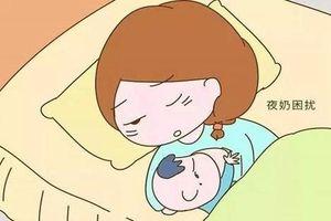 Tuyệt chiêu giúp mẹ cai ti đêm cho bé cực hiệu quả để cả mẹ và bé đều được ngủ ngon giấc