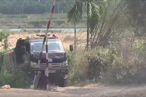 Nói về việc con rể mở barie khai thác cát, Chủ tịch huyện Sơn Hà: Anh nào vi phạm thì xử lý theo pháp luật