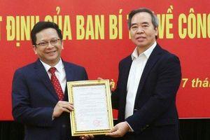 Bổ nhiệm ông Nguyễn Đức Hiển giữ chức Phó Trưởng Ban Kinh tế Trung ương