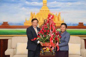 Chúc mừng 65 năm thành lập Đảng Nhân dân Cách mạng Lào