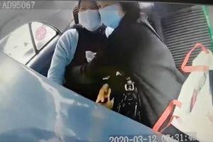 Cận cảnh tài xế taxi chạy đua tử thần, cứu sản phụ đột ngột ngất xỉu