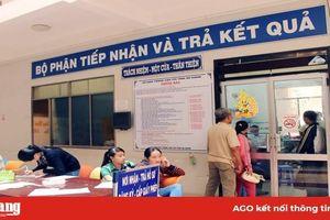 Sở Giao thông - Vận tải An Giang giải quyết thủ tục hành chính mức độ 3, 4
