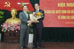 Cao Bằng, Khánh Hòa có Phó Chủ tịch, Phó Bí thư mới