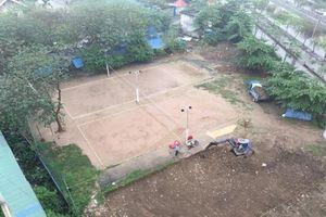 Ngang nhiên chiếm dụng đất dự án làm sân bóng chuyền (Hải Phòng): Yêu cầu trả lại nguyên trạng trước 15h ngày 22/3