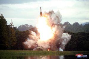 Triều Tiên phóng vật thể lạ bay xa 410km