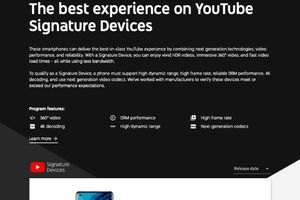 OPPO Find X2 được Youtube công nhận trong danh sách Signature Devices