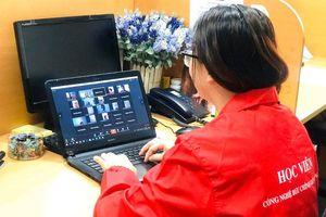 Từ hôm nay, hơn 10.000 sinh viên PTIT học trực tuyến qua phần mềm TranS