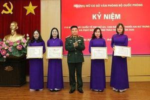 Phát huy truyền thống anh hùng, xây dựng Văn phòng Bộ Quốc phòng đáp ứng yêu cầu nhiệm vụ thời kỳ mới