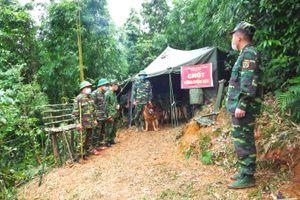 Kiểm soát chặt chẽ khu vực biên giới Việt - Lào nhằm ngăn chặn người dân vượt biên trái phép